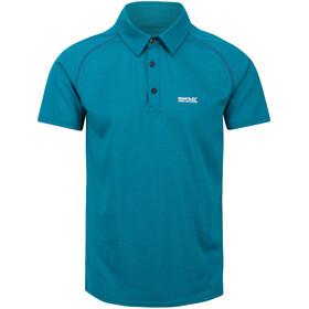 Regatta Kalter Camiseta Hombre, Azul petróleo